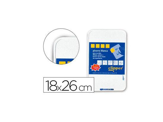 masapp0213-pizarra-blanca-18x26cm-rotulador-1u-clipper