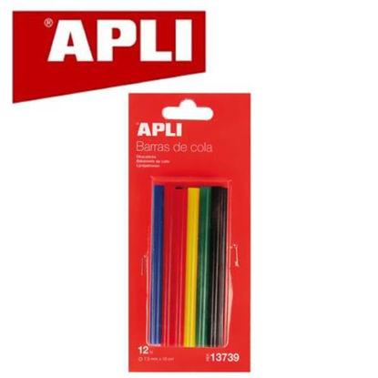 apli13739-recambio-barras-cola-7-5mm-color-12u-13739