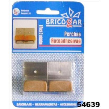 weay180007102-percha-adhesiva-metal-miel-2u-1800-071-02