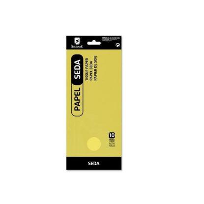 poes326613-papel-seda-liso-amarillo-10-hojas