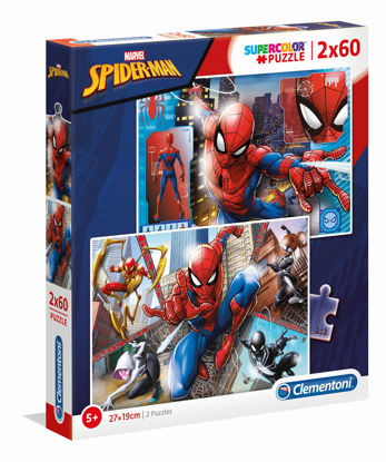 clem21608-puzzle-spiderman-2x60pz