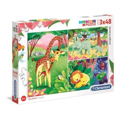 clem252336-puzzle-animales-de-la-savana-3x48pz