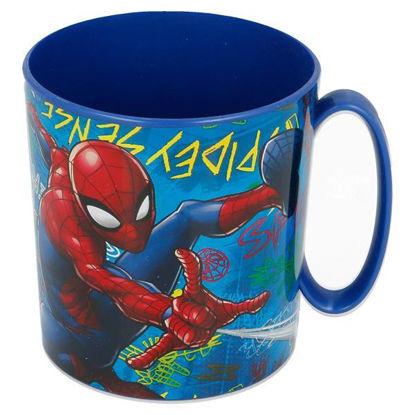 stor37904-taza-micro-350ml-spiderman-graffiti