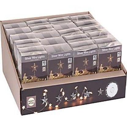 koopax8720520-guirnalda-estrella-40-led-calido-bateria-interior-ax8720520
