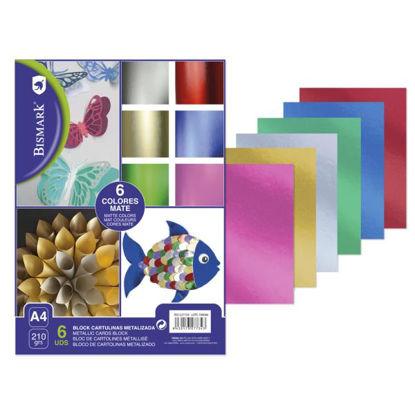 poes327734-cartulina-metalizada-mate-a4-block-6-colores