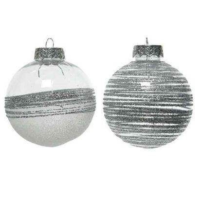 kaem25760-bola-navidad-decorada-plata-8cm