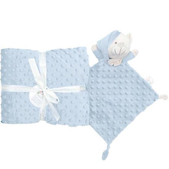 dora10339azul-manta-doudou-azul-80x110cm