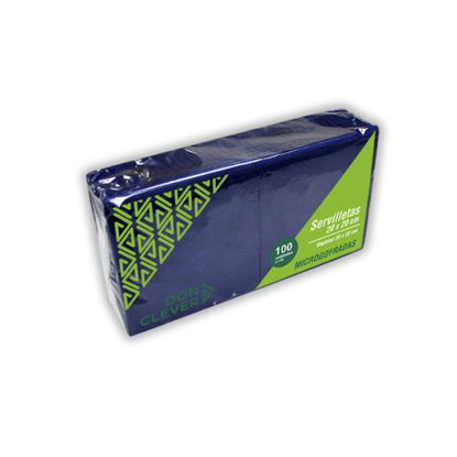 dicaser256-servilleta-microgofrada-azul-20x20cm-100u-