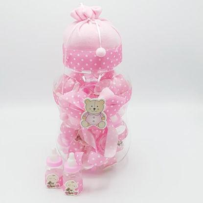 weay176700301-regalo-bautizo-rosa-1u-38x11cm-3u-11x3-5cm