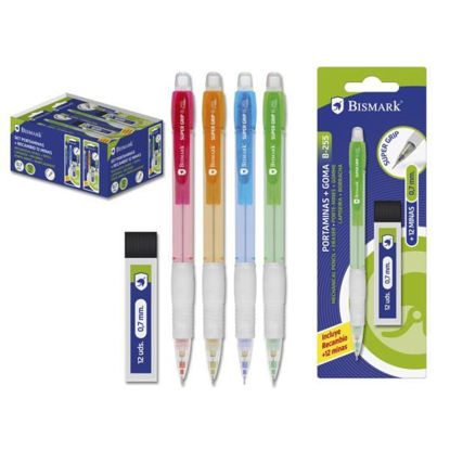 poes328168-portaminas-color-neon-0-7mm-12-minas-bismark