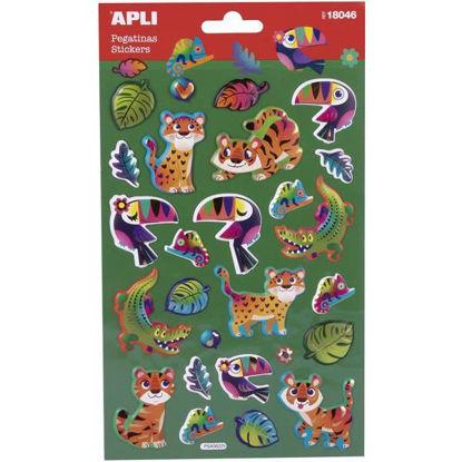 apli18046-pegatinas-animales-selva-1-hoja