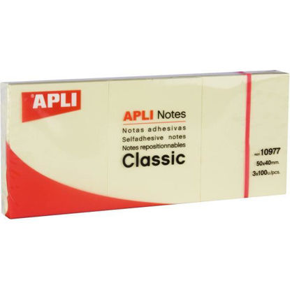 apli10977-notas-adhesivas-3x40x50mm-color-estandar