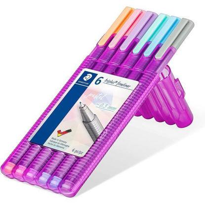 stae334sb6pa-rotulador-triplus-fineliner-6u-pastel-0-3mm