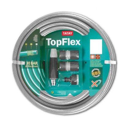 tata9955105-manguera-rollo-topflex-15m-ø5-8-15mm-conectores-boquilla-riego
