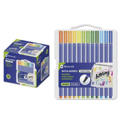 poes328345-rotulador-punta-fina-24-colores-lettering-set
