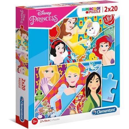 clem24766-puzzle-princess-2x20pz