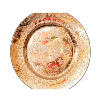 denacen86993-plato-33cm-oro-ramo-uv