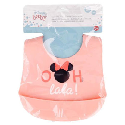 stor13129-babero-silicona-minnie-in