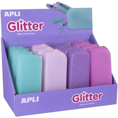 apli18216-estuche-silicona-glitter-