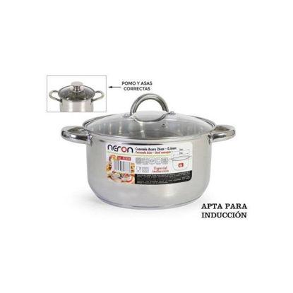 indeb178241-cacerola-24cm-6l-acero-